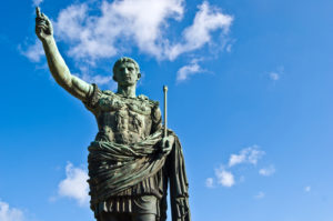 Caesar courtesy of Shutterstock.