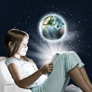 Young reader, building knowledge and comprehension, courtesy of Shutterstock.