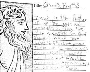 Greek Journal Entry