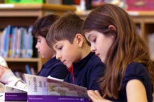 Children Reading a Core Knowledge Book
