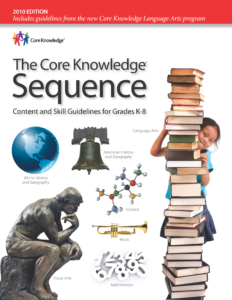 The Core Knowledge Sequence Cover