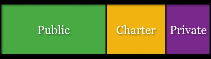Public, Charter, & Private Schools