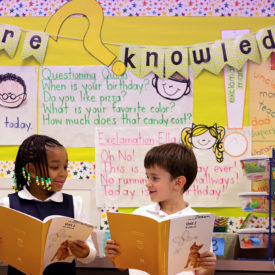 Kids with a Core Knowledge Banner