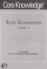 Text Resources for Grade 3