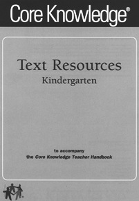 Text Resources for Kindergarten