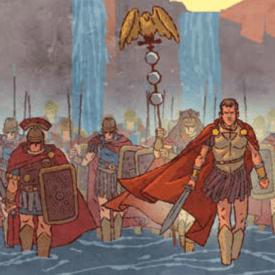 Caesar crosses Rubicon -- image