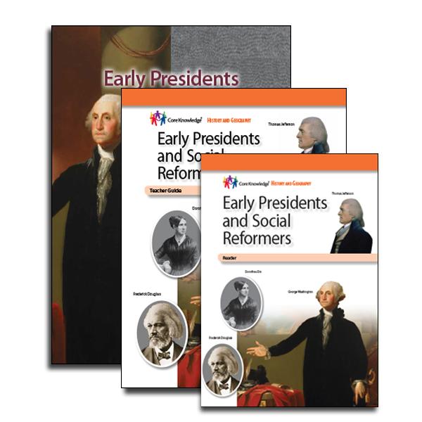 1495357ebd795 Early Presidents and Social Reformers  CKHG Homeschool Set