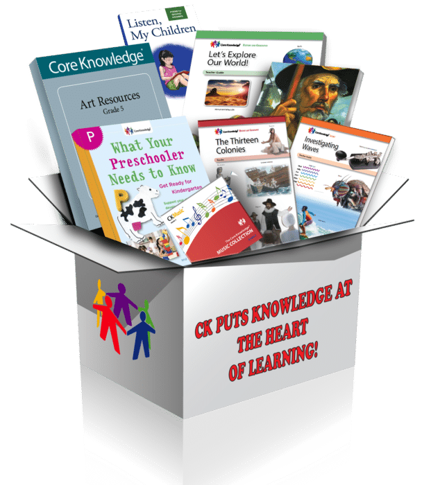 CK puts knowledge at the heart of learning
